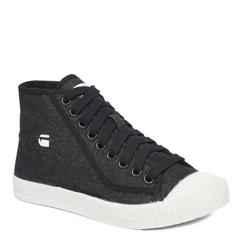 G-Star Black Rovulc Mid Sneakers