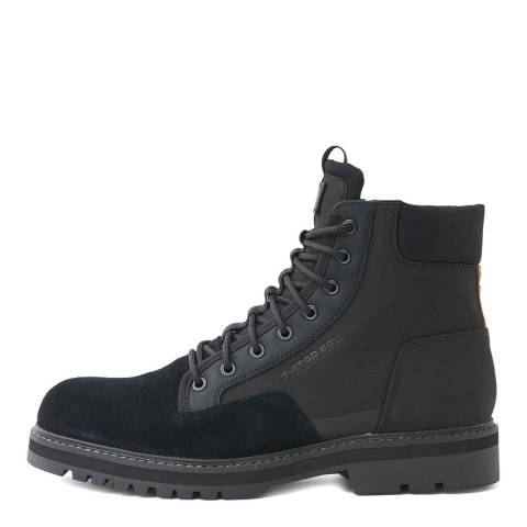 G-Star Black Powel Biker Boot