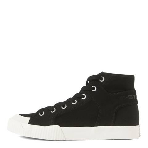 G-Star Black Rackham Tendric Mid Vulc Sneaker