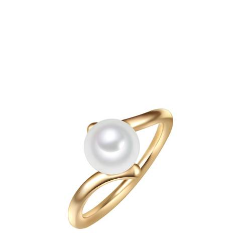 Yamato Pearls Gold/White Pearl Ring