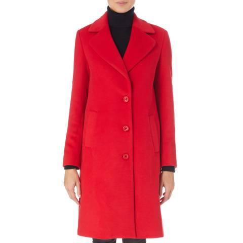 James Lakeland Red Tailored Coat