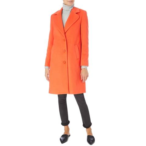 James Lakeland Orange Tailored Coat