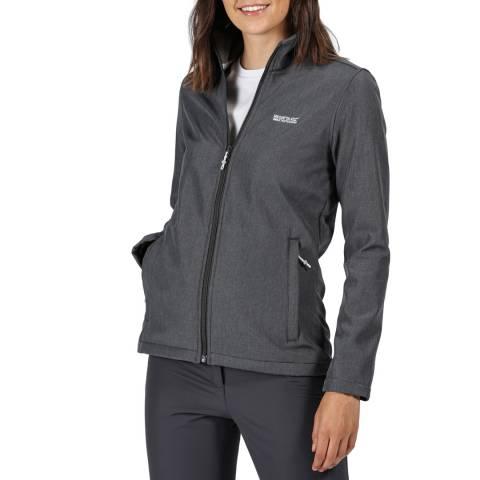 Regatta Seal Grey Womens Carby Soft shell Jacket
