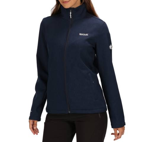 Regatta Navy Womens Carby Soft shell