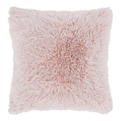 Catherine Lansfield Cuddly Cushion, Blush