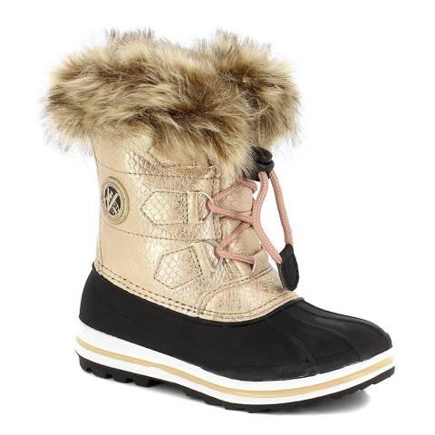 Kimberfeel Pink Morzine Short Boots