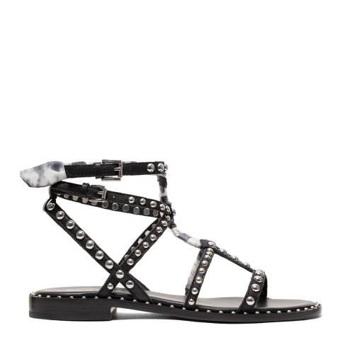 ASH Black/White Tie Dye Patchouli Sandal