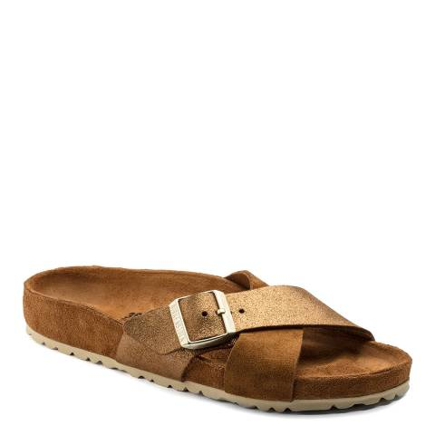 Birkenstock Brown Suede Siena Exquisite Sandals