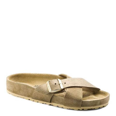 Birkenstock Khaki Suede Siena Exquisite Sandals