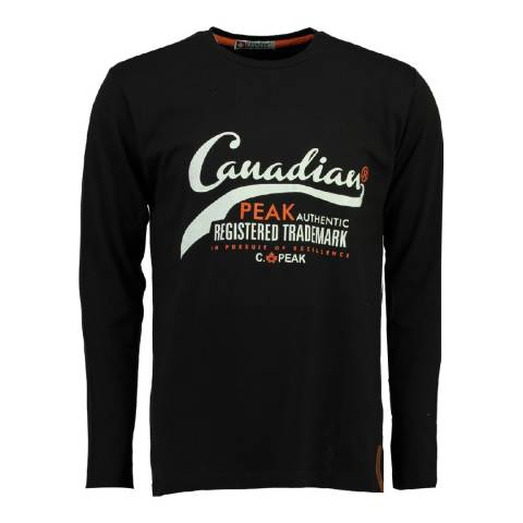 Canadian Peak Black Jampista Long Sleeve Top