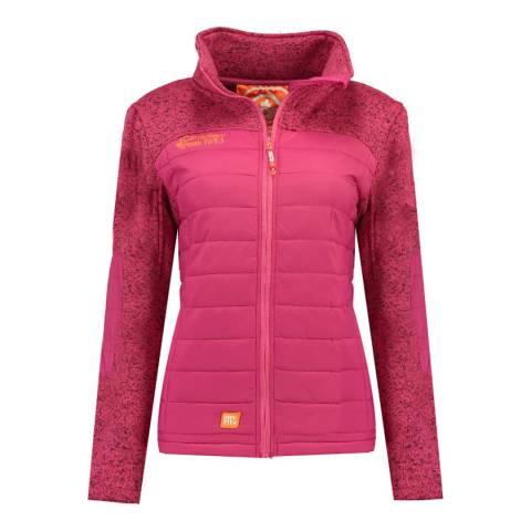 Canadian Peak Pink Uchampionne Fleece Jacket