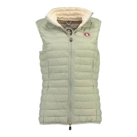 Canadian Peak Light Grey Vamilay Basic Gillet