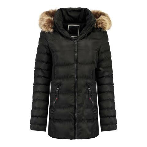 Canadian Peak Black Anieseak Long Jacket