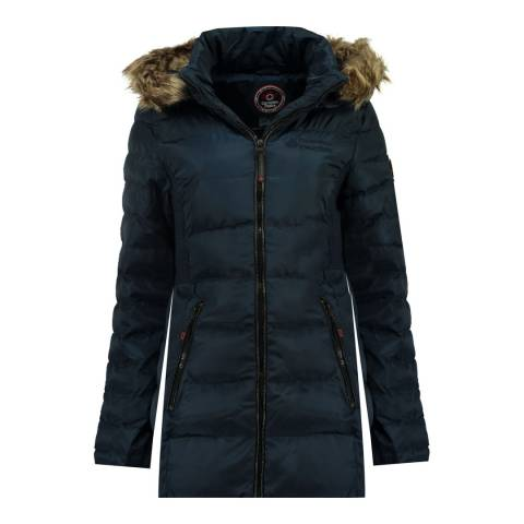 Canadian Peak Navy Anieseak Long Jacket