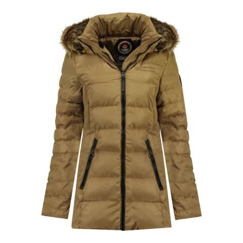 Canadian Peak Taupe Anieseak Long Jacket