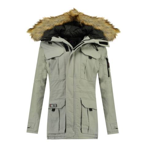 Canadian Peak Light Grey Babiloneak Parka