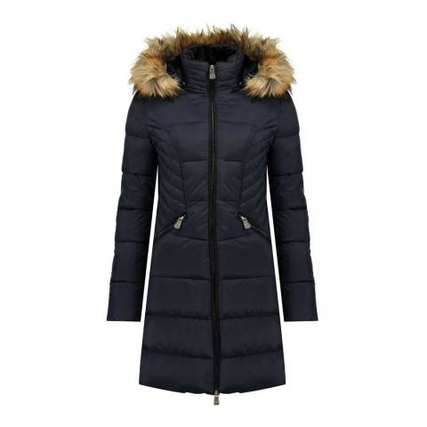 Canadian Peak Navy Akapeak Long Jacket