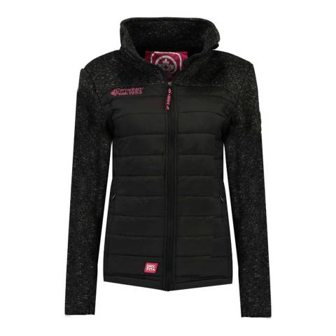 Canadian Peak Black/Dark Grey Uchampionne Fleece Jacket