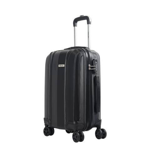 Travel One Black 8 Wheel Balmoral Suitcase 66cm