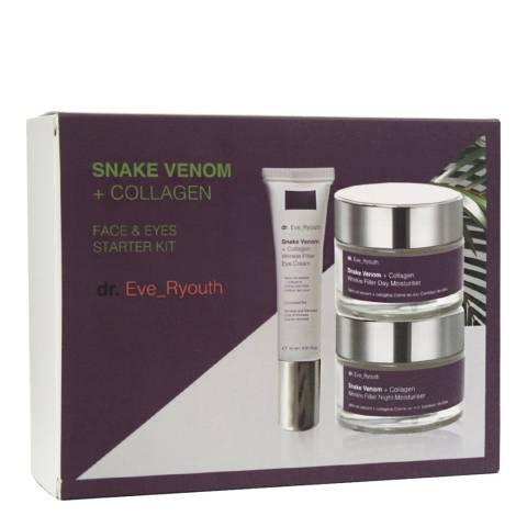Dr Eve_Ryouth Snake Venom+ Collagen Face & Eye Starter Kit