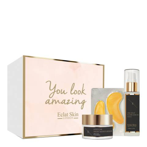 Eclat Skin London 24K Gold Anti-Wrinkle Retinol Skincare Set