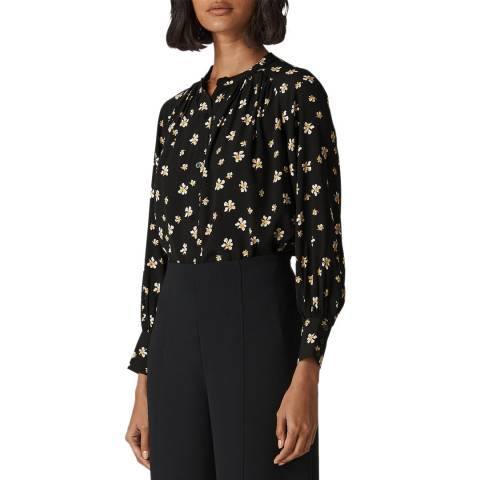 WHISTLES Multi Edelweiss Print Blouse