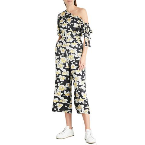 WHISTLES Multi Aina Silk Jumpsuit