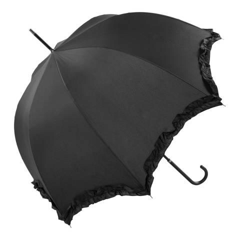 Susino Black Scallop Frill Border Umbrella
