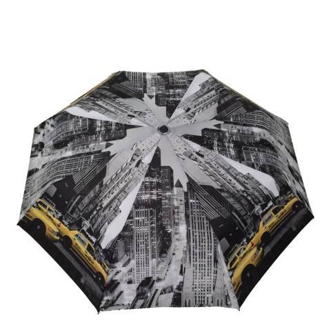 Smati Black / White New York Mini Umbrella