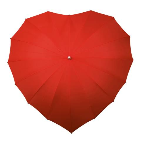 Falconetti Red Heart Umbrella