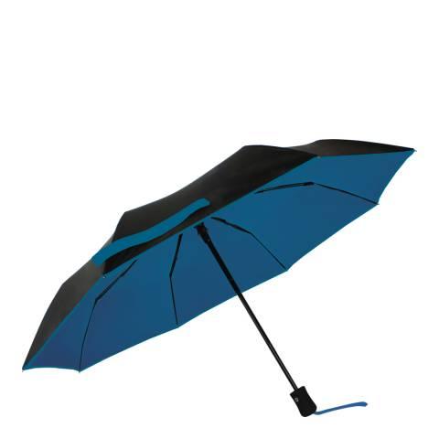 Smati Black / Blue UV Protection Umbrella