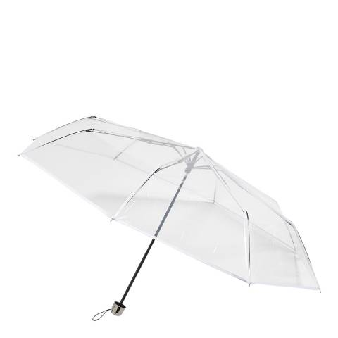 Dans l'air du temps Transparent Border Umbrella