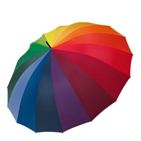 Happy Rain Rainbow Golf Umbrella