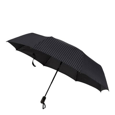Happy Rain Black Mini Umbrella