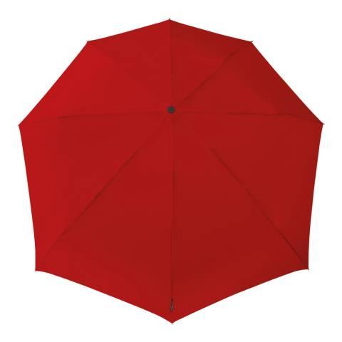 STORMini by Impliva Red Aerodynamic Mini Umbrella