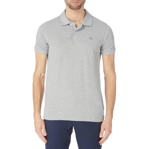 Crew Clothing Grey Melbury Jersey Polo