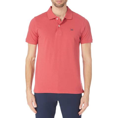 Crew Clothing Orange Melbury Jersey Polo