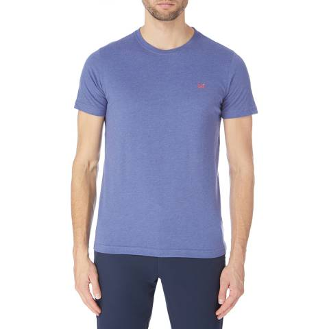 Crew Clothing Blue Round Neck Tee
