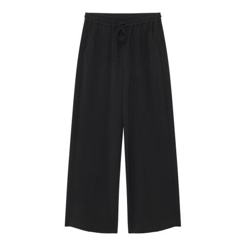 American Vintage Black Wide Trousers