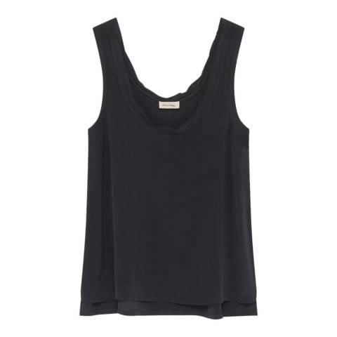 American Vintage Black Vest Top