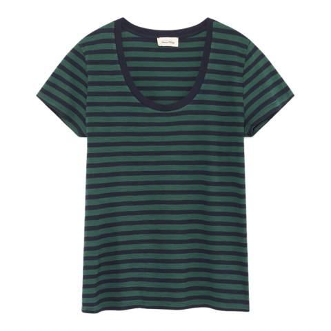 American Vintage Navy Stripe T-Shirt