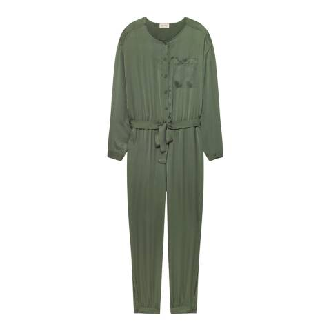 American Vintage Moss Relaxed Jumpsuit