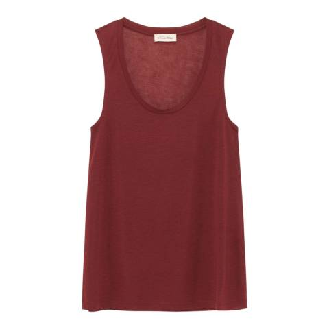 American Vintage Bordeaux Wool Blend Tank Top