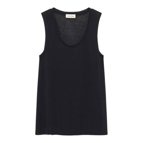 American Vintage Black Wool Blend Tank Top