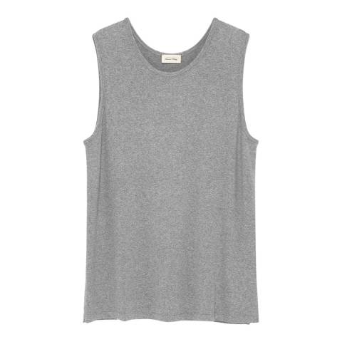 American Vintage Grey Relaxed Tank Top
