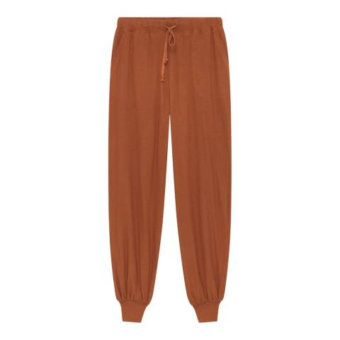 American Vintage Tan Tapered Joggers