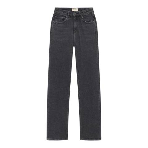 American Vintage Black Wash Flared Jeans