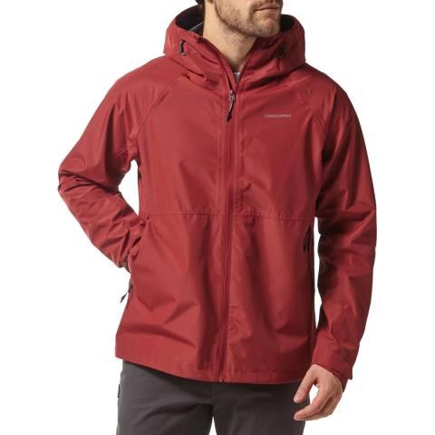 Craghoppers Red Remus Waterproof Jacket