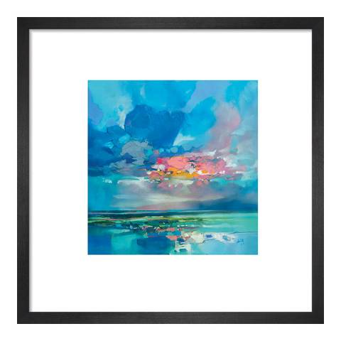 Scott Naismith Arran Blue Framed Print, 30x30cm