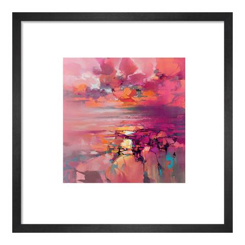 Scott Naismith Coral Framed Print, 30x30cm